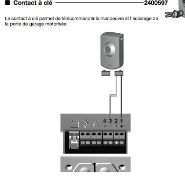 Pb branchement recepteur came sur motorisation garage somfy 6 messages - Porte de garage motorisee somfy ...