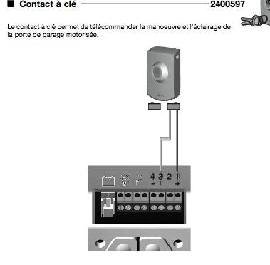 Pb branchement recepteur came sur motorisation garage - Motorisation porte de garage sectionnelle somfy ...